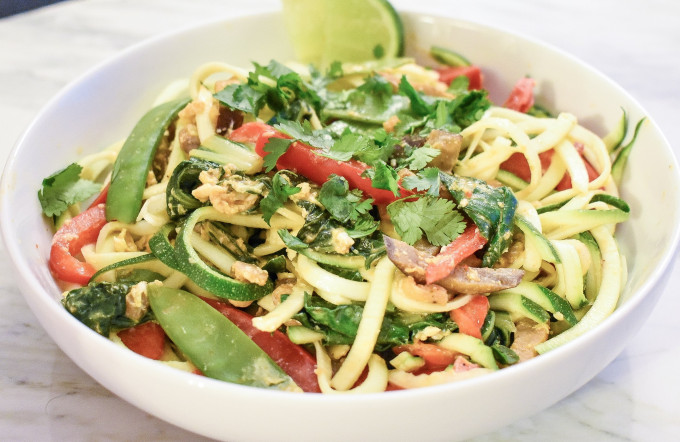 Zoodle Pad Thai